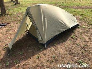 モンベルのテント「ムーンライト1型」