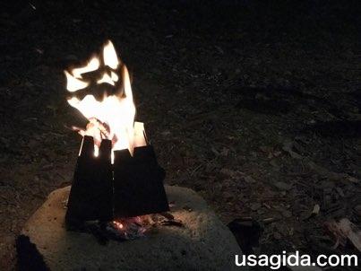ヘキサゴンウッドストーブと焚き火