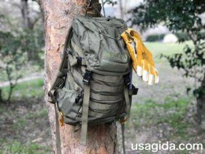 木に吊るされたカリマーSFのプレデター30