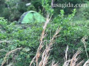キャンプツーリング入門Bセットの風景