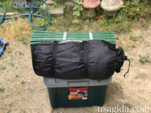 キャンプツーリング入門Bセットをホムセン箱にパッキング