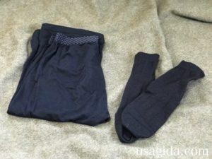 下着と靴下