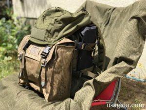 コンバットバッグが装備されたカリマーSFのプレデター30