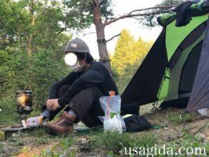 キャンプツーリング入門Bセットと男
