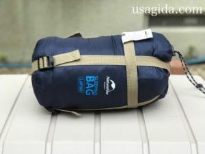 ネイチャーハイクの寝袋LW180