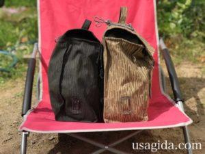 防水サイドバッグの側面