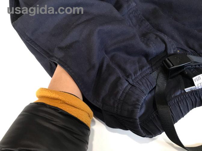 グラミチパンツのポケット