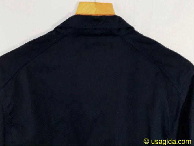ユナイテッドアスレのカバーオールの襟