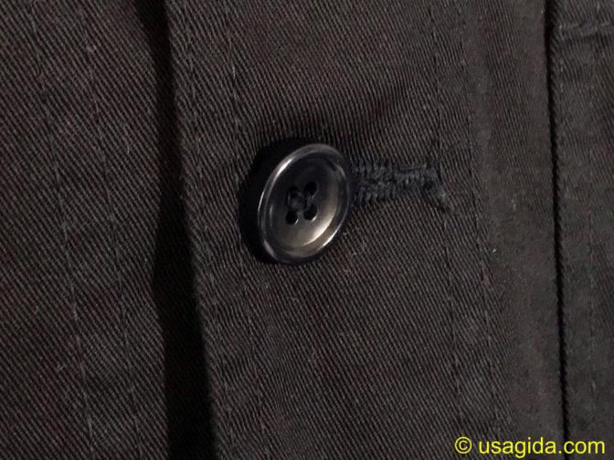 ユナイテッドアスレのカバーオールのボタン