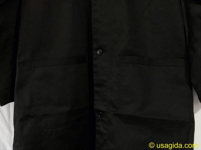 ユナイテッドアスレのエンジニアコートのポケット