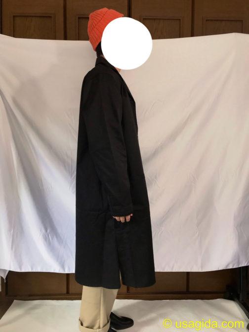 ユナイテッドアスレのエンジニアコートを着た人