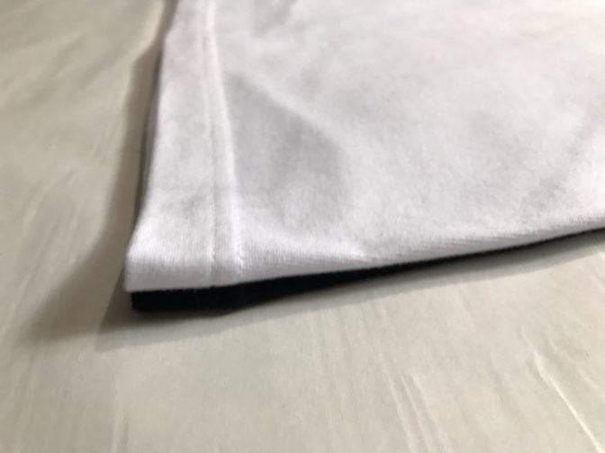 ユナイテッドアスレの半袖Tシャツの裾